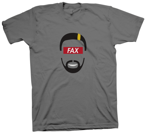 FAX Face T-Shirt (Grey)
