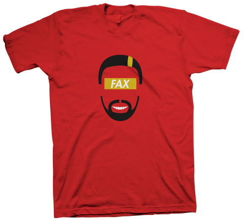FAX Face T-Shirt (Red)