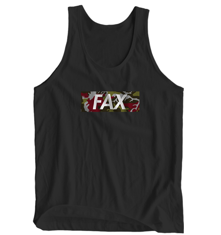 FAX Red Camo Tank