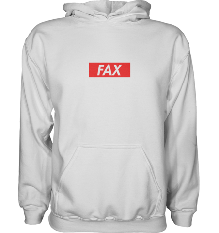 FAX Hoodie White