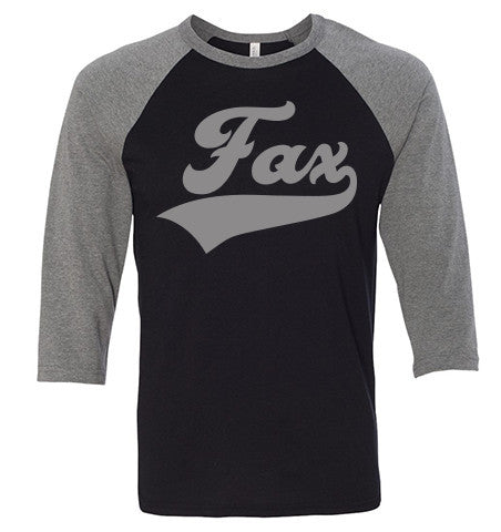 Fax Raglan Grey/Black