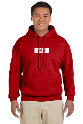FAX Inverse Red Hoodie