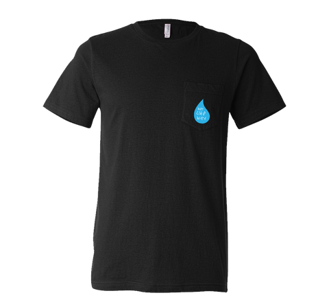 Wet Like Wata Pocket T-Shirt Black