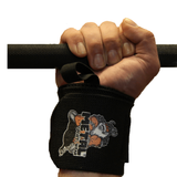 METAL Black Wrist Wraps (IPF approved)