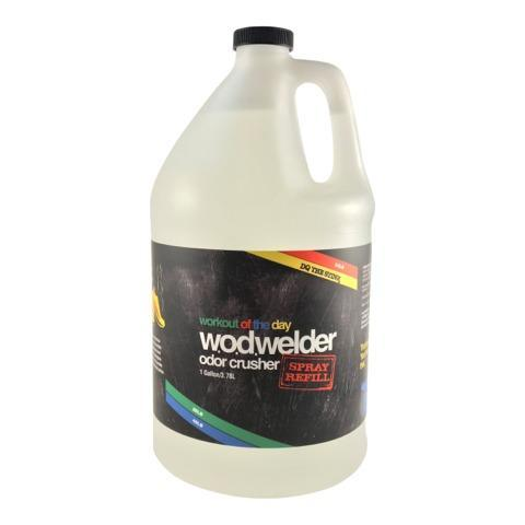 w.o.d.welder Odor Crusher Spray - 1 Gallon Refill