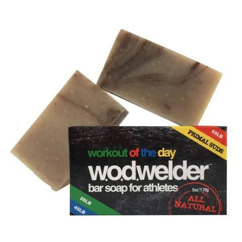 w.o.d.welder Natural Bar Soap for Athletes