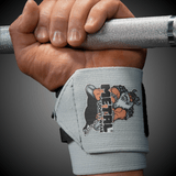 METAL Silver Wrist Wraps (IPF approved)