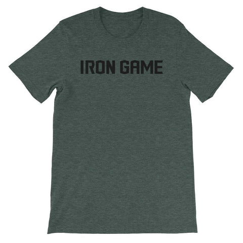IRON GAME® Short-Sleeve Unisex T-Shirt