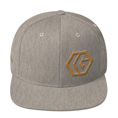 IRON GAME® Natural Snapback Hat