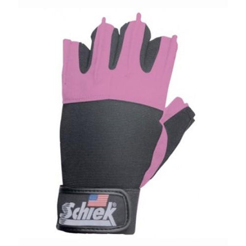 Schiek Pink Women's Gel Lifting Gloves