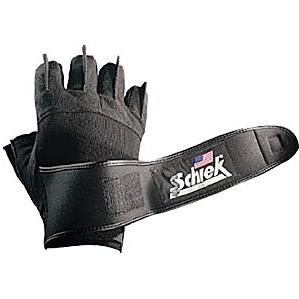 Schiek Platinum Gel Lifting Gloves with Wrist Wraps