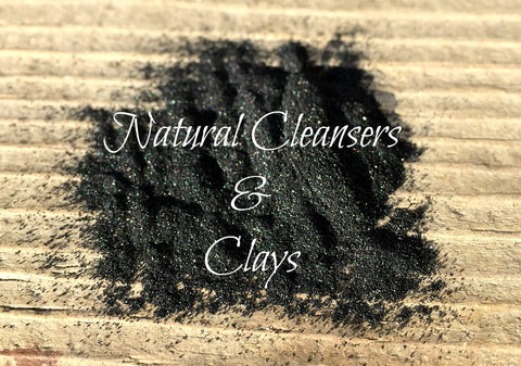 Natural Cleansers & Clays
