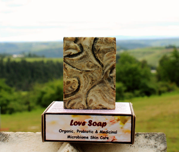 Love Soap - Organic, Probiotic, & Medicinal - Clearwater Cultures
