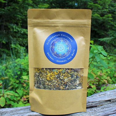 Astral - Herbal Tea Bath - Organic & Medinical - 1 oz. - Clearwater Cultures