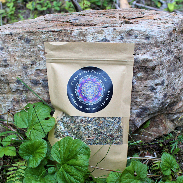 Borealis - Herbal Tea Bath - Organic & Medicinal - 1oz.