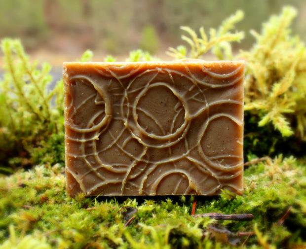 Henna (Brown) Shampoo Bar - Organic, Probiotic, & Medicinal - Clearwater Cultures