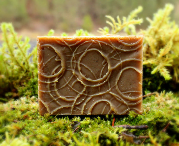 Brown Henna Shampoo Bar - Organic, Probiotic, & Medicinal - Clearwater Cultures