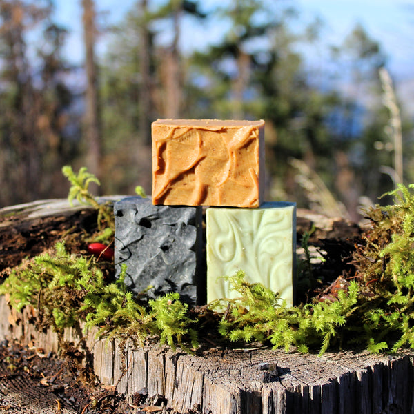 3 Pack of Soap Varieties! (Misty Forest, Rest & Relax, Charcoal Clay, Body Build, Expresso, Healthy Cell, Immune Boost, Sangreal)