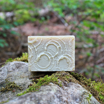 Oasis (Rosemary Peppermint) Shampoo Bar - Organic, Probiotic, & Medicinal