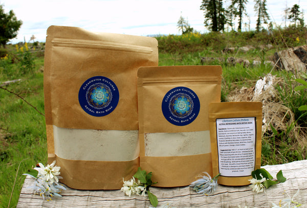 Astral - Renew & Refreshing - Detox Bath Soak -Various sizes - Clearwater Cultures