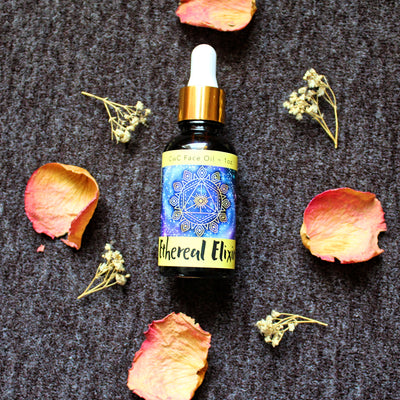 Ethereal Elixir - Face Oil - Organic, Probiotic, & Medicinal - 1 oz. - Clearwater Cultures