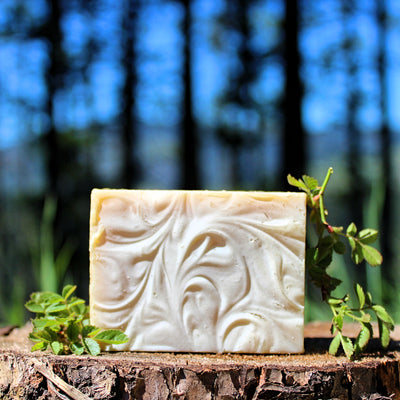 Luminous (Lavender Luxury) Cream Soap - Organic, Probiotic, & Medicinal (Moisturizing) - Clearwater Cultures
