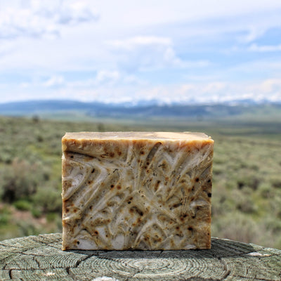 Serene (Peppermint) Cream Soap - Organic, Probiotic, & Medicinal - Clearwater Cultures