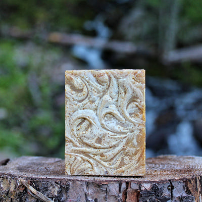 Tranquil (Lavender Turmeric) Cream Soap - Organic, Probiotic, & Medicinal - Clearwater Cultures