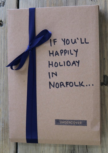 Buy this book if you'll happily holiday in Norfolk