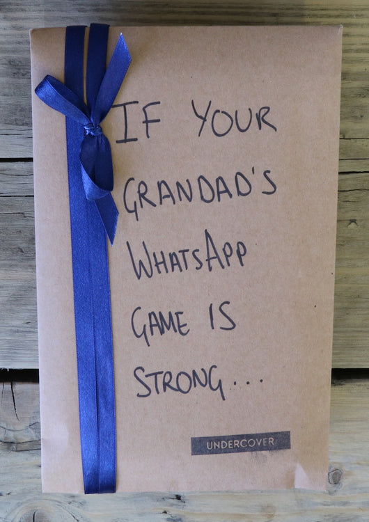 Buy this book if your grandad's WhatsApp game is strong