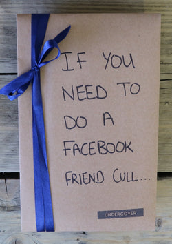 Buy this book if you need to do a Facebook friend cull