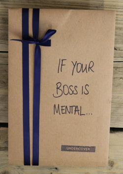Buy this book if your boss is mental