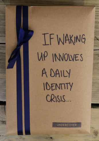 Buy this book if waking up involves a daily identity crisis