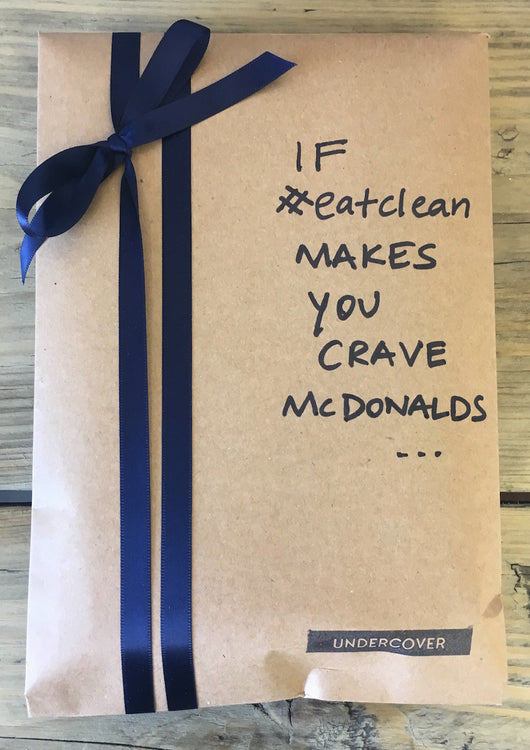 Buy this book if #eatclean makes you crave McDonalds