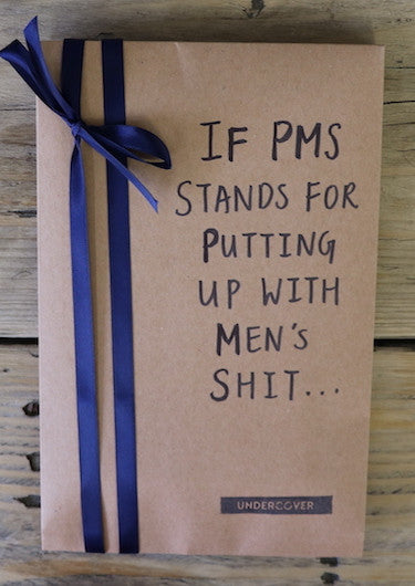 Buy this book if PMS stands for Putting up with Men's Shit