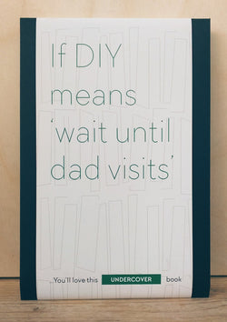 Buy this book if DIY means 'wait until dad visits'