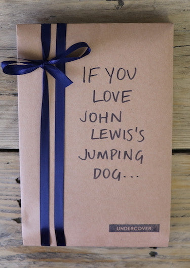 Buy this book if you love John Lewis's jumping dog