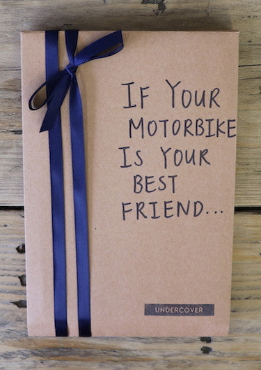Buy this book if your motorbike is your best friend...