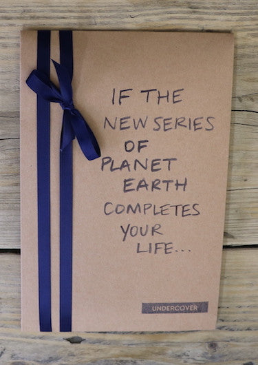Buy this book if the new series of Planet Earth completes your life