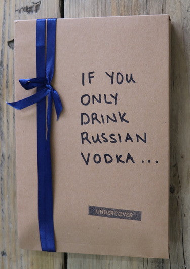 Buy this book if you only drink Russian Vodka