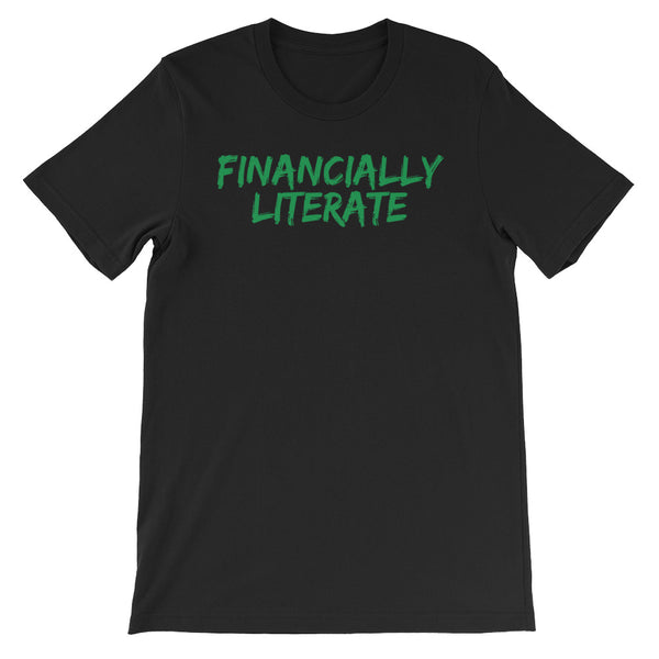 Financially Literate Short-Sleeve Unisex T-Shirt