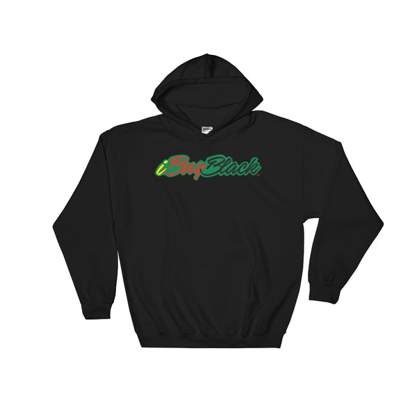 iBuyBlack Hooded Sweatshirt
