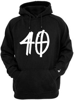 40 Hooded Sweatshirt