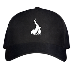 Fireboy Dad Hat W/ GoodWoodNYC 3D Emblem [Black Suede]