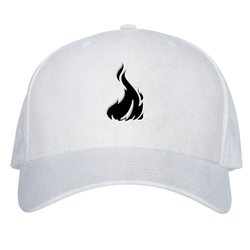 Fireboy Dad Hat W/ GoodWoodNYC 3D Emblem [White Suede]