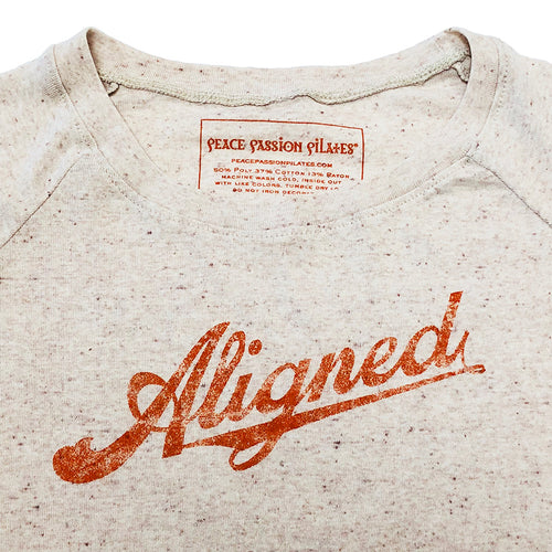 Aligned Yoga Pilates Long-Sleeved Lightweight Sweatshirt with Vintage type