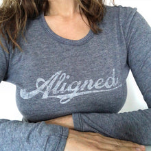 Aligned Long-Sleeved Pilates Yoga Barre Shirt