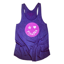 Colorful Pilates Tank Top with Happy Face Design