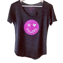 Pilates is Groovy T-Shirt with Pilates Smiley Face in Retro Design