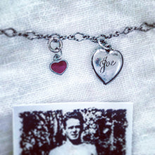 Vintage Joseph Pilates photo and sterling silver bracelet